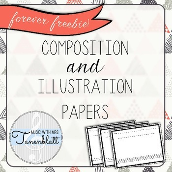 FOREVER FREEBIE: Composition and Illustration Sheets