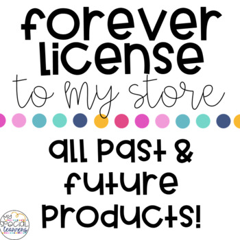FOREVER License To My Store!