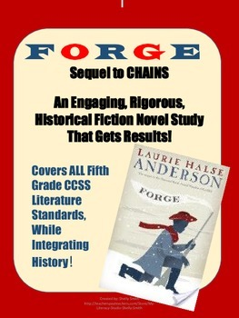 FORGE: A Historical Fiction Novel Study on The Revolutiona