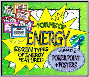 FORMS OF ENERGY: POWERPOINT AND POSTERS
