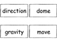FOSS/AMSTI 3rd grade vocabulary word wall cards - Water an