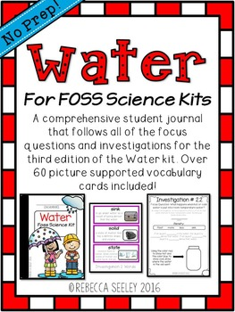 FOSS-Water: A Kid Friendly Science Journal