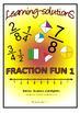 FRACTION FUN BUNDLE - 3 Workbooks - 150 Task Cards - FOUND