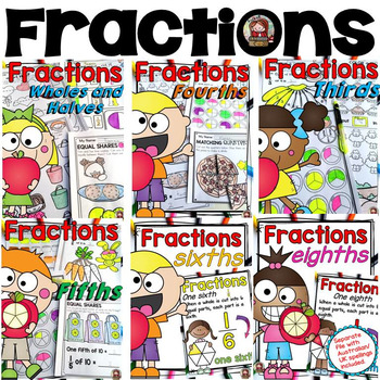 FRACTIONS BUNDLE: WHOLE NUMBERS