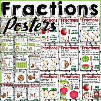 FRACTIONS: POSTERS