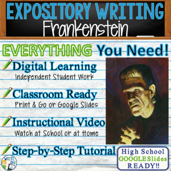 Frankenstein by Mary Shelley - Text Dependent Analysis Exp
