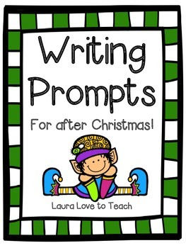 FREE Writing Prompts for After Christmas