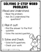 FREE 2-Step Word Problems Using the Four Operations