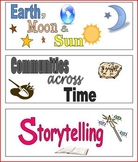 FREE 3rd Grade Imagine It Theme Labels