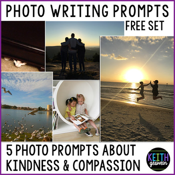 FREE Writing Prompts About Kindness #kindnessnation #wehol