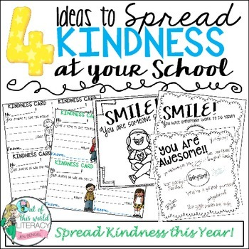 FREE Activities to Spread Kindness in Your Class This Year