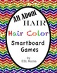 FREE ESL All About Hair: Hair Color Smartboard Games for ELLs
