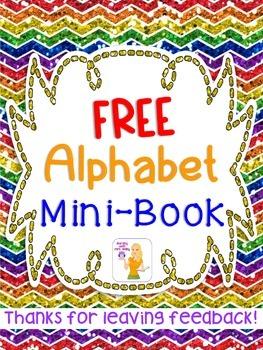 FREE Alphabet Mini-Book