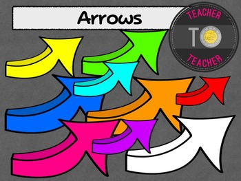 FREE Arrows {TeacherToTeacher Clipart}