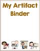 FREE Artifact Binder Dividers--Student Work Organization Tool
