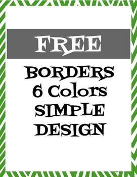 FREE BORDERS--Simple Design