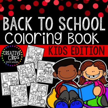 FREE Back to School KIDS Coloring Book {Made by Creative C