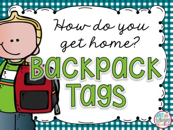FREE Backpack Tags: How do you get home?