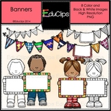 FREE Banners Clip Art Mini Bundle