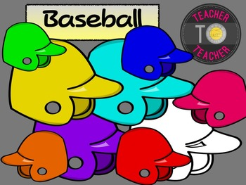FREE Baseball Helmets {TeacherToTeacher Clipart}