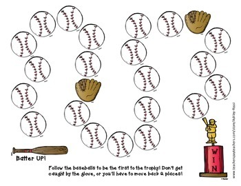FREE! Baseball Quick Play Game
