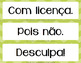 FREE Basic Expressions in Portuguese - expressões essencia
