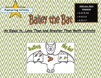 *FREE* Bat Themed Equal to, Less Than, Greater Than Mathtivity