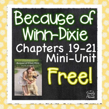 Because of Winn-Dixie {FREE} Chapter Unit
