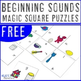 FREE Beginning Sounds Center Game