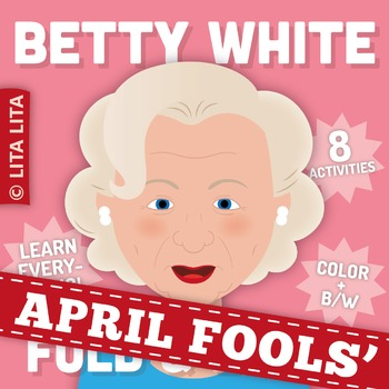 FREE Betty White Fold & Learn