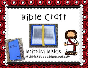 FREE~ Bible Craft
