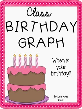 FREE Birthday Bar Graph