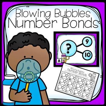 FREE- Blowing Bubbles Number Bonds