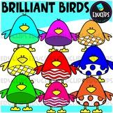 FREE Brilliant Birds Clip Art Bundle {Educlips Clipart}