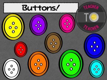 FREE Buttons {TeacherToTeacher Clipart}