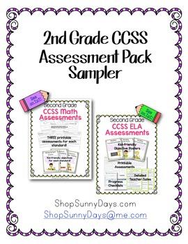 FREE CCSS Assessment Sampler