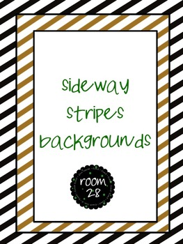 """FREE COMMERCIAL USE """"Sideway Stripes"""" Backgrounds"""