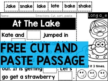 FREE CUT AND PASTE (LONG VOWEL PASSAGE)