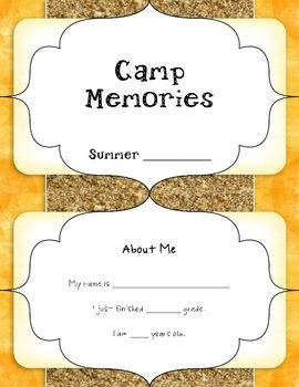 FREE Camp Memory Book