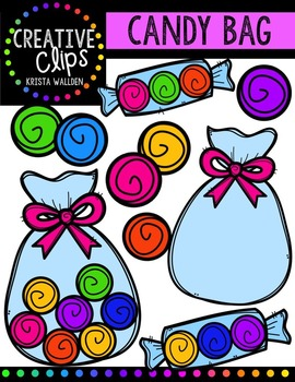 FREE Candy Bag {Creative Clips Digital Clipart}