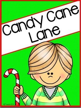 Candy Cane Art, Long Vowel, Short Vowel, Writing
