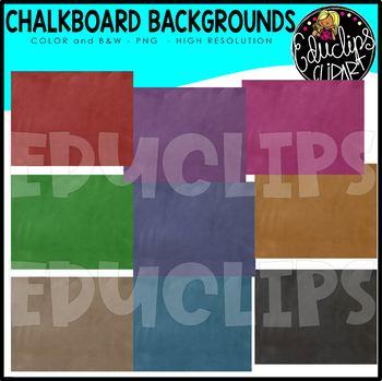 ~FREE~ Chalkboard Backgrounds Clip Art Bundle