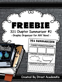 {FREE} Chapter Summarizer - Version 2 w/321 & Making Connections