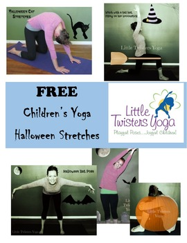FREE Children's Halloween Stretches Pack from Little Twist