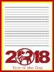 Chineese New Year Writing Paper