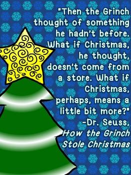 FREE Christmas Classroom Poster