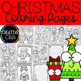 FREE Christmas Coloring Book {Made by Creative Clips Clipart}