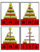 FREE~ Christmas Cupcakes~ Count and Clip Cards
