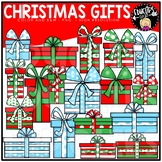 FREE Christmas Gifts Clip Art Bundle {Educlips Clipart}