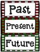 FREE Christmas Past, Present, Future Tense Sort Activity
